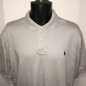 Polo Ralph Lauren Gray Men's Polo Shirt XL